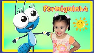 FORMIGUINHA   CLIPE MUSICAL   MÚSICA INFANTIL   BIA E HENRY KIDS