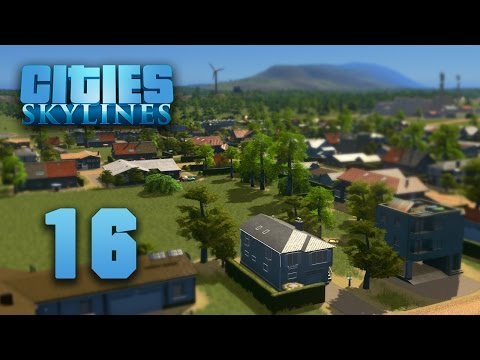 Let's Play Cities: Skylines - 16 [ River City ]