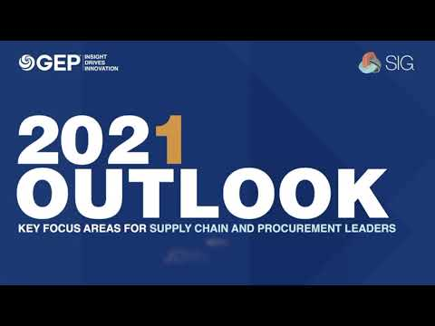 GEP Outlook 2021: Aligning Finance and Procurement With Budget to Pay