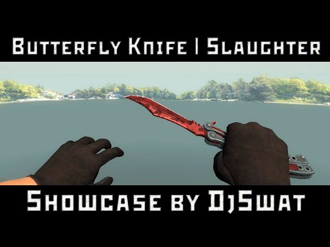 ★ Butterfly Knife | Slaughter [Нож-бабочка | Убийство]