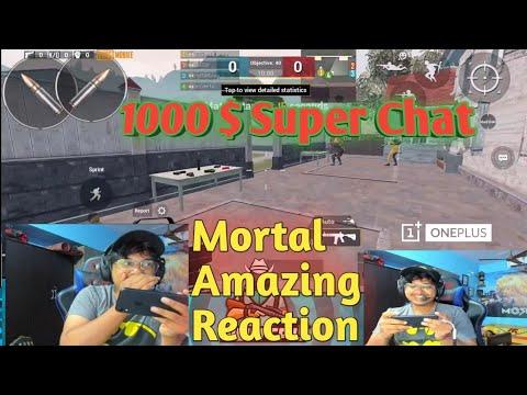 Soul Mortal Gets 1000 $ Dollars Super Chat || Mortal Reaction After Highest Donation Ever