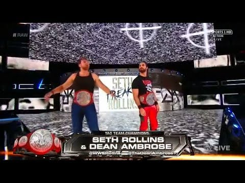 Seth Rollins Entrance:Crowd Screams Burn It Down with the Song 21/08/17