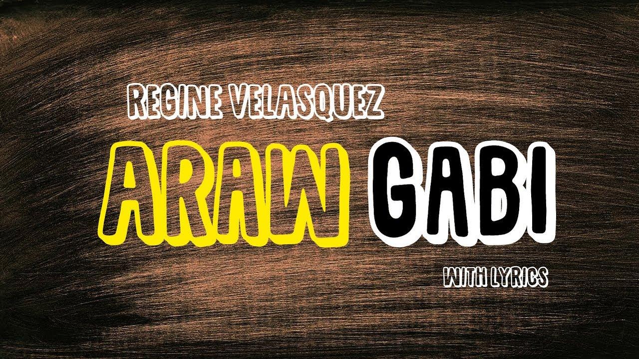 Regine Velasquez – Araw-Gabi Lyrics | Genius Lyrics