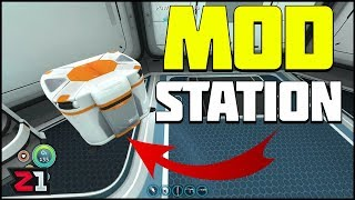 Modification Station Fragments and MORE ! Subnautica Gameplay | Z1 Gaming