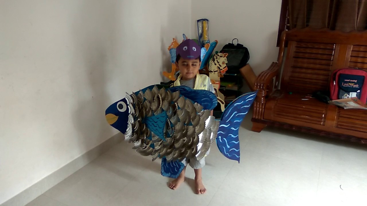 Fancy dress as fish by prathibha youtube fancy dress as fish by prathibha solutioingenieria Gallery