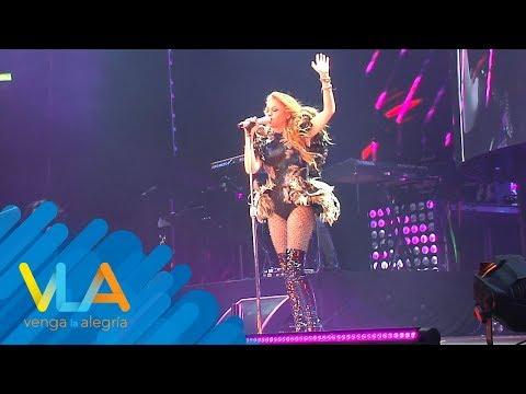 ¿Paulina Rubio decepcionó en concierto con Belinda y Martha Sánchez?  Venga la Alegría