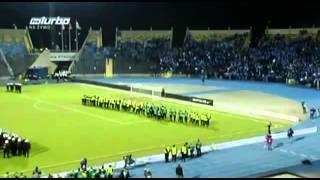 Драка польских фанов на стадионе
