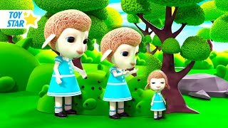 New 3D Cartoon For Kids  Dolly And Friends  Big and Small 11
