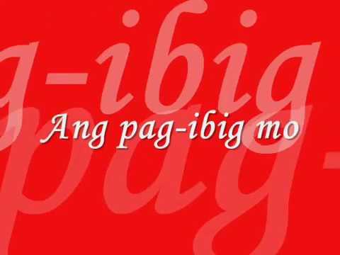 Ipaglalaban Ko    (- Freddie Aguilar -   Lyrics)