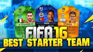 Fifa 16 - best starter team