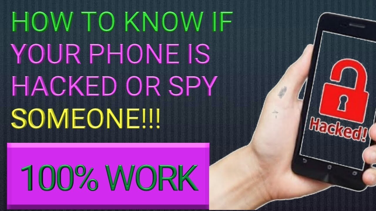 how to know if your phone is hacked and spy someone. how ...