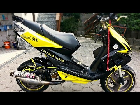 tgb bullet rs tuning story part1 black yellow custom