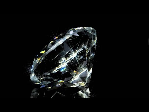 WHY DO DIAMONDS SPARKLE?