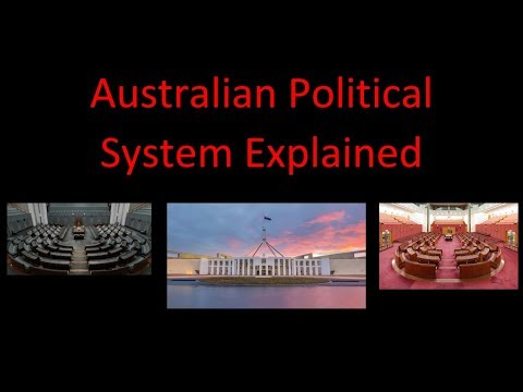 Australian Political System Explained