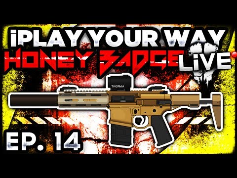 "Call of Duty: Ghosts HONEY BADGER w/ Semi-Auto!  - ""iPlay Your Way"" EP. 14 (CoD Ghost Multiplayer)"