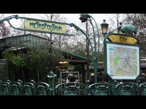 Hector Guimard, Metro Girişi, Paris Métropolitain (Sanat Tarihi / 19. Yüzyıl Avrupası'nda Sanat)