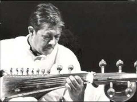 Pandit Buddhadev Dasgupta - Raga Kafi Kanada, Tabla - Pt Ananda Gopal Bandapadhyay, N J 1989