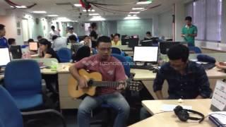 Cánh Buồm Phiêu Du [Guitar + Cajon ]