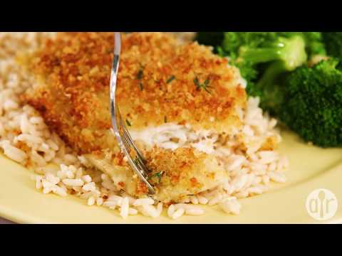 How To Make Baked Flounder With Panko And Parmesan | Dinner Recipes | Allrecipes.com