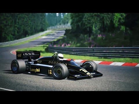 Assetto Corsa: Test Nürburgring Nordschleife Lotus 92 (PS4)