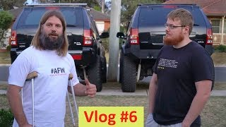 WH Rear Bar Finish - Vlog #6