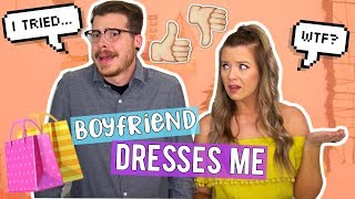 MY BOYFRIEND PICKS OUT MY OUTFITS FOR A WEEK