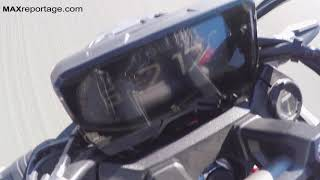 Honda CB650R 2019 Top Speed 234 km/h on German Autobahn