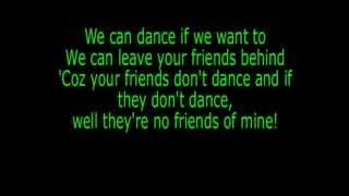 Men without Hats- The Safety Dance (Lyrics)