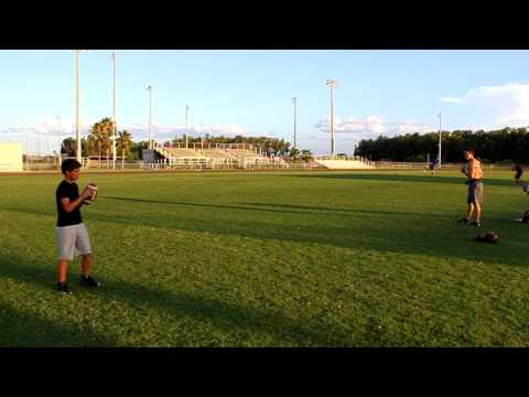 Playing Catch with Logan Payne