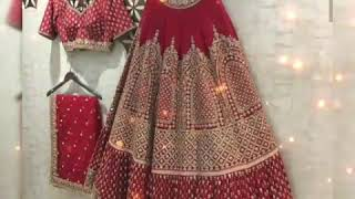 Best bride Lehnga collection ❤️ New designer Lehnga
