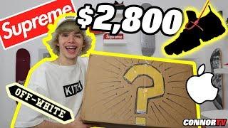 $2800 Hypebeast Mystery Brand Box - AS SEEN ON PEWDIEPIE, JAKE PAUL, RICE GUM