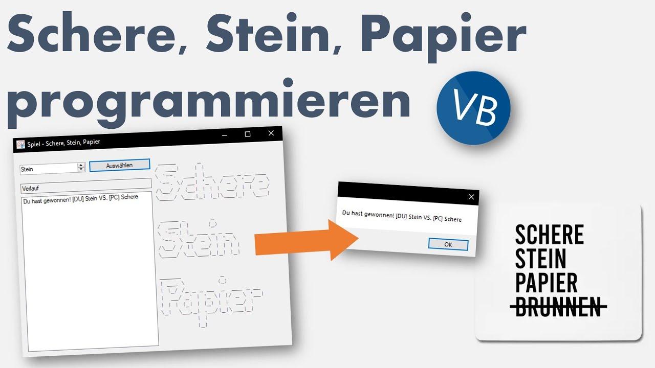 Stein-Papier-Schere-Spiel Ausgerechnet!