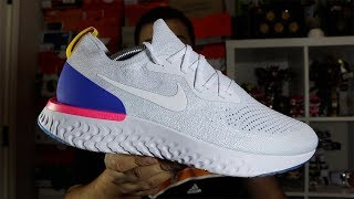 e0886762a8110 Nike Epic React Flyknit White OG Review + On Foot!