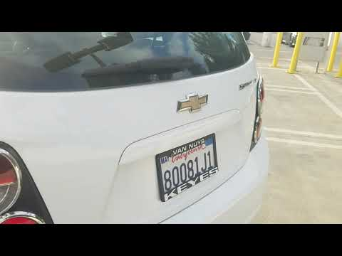 2015 Chevrolet Sonic Los Angeles North Hollywood Van Nuys Canoga