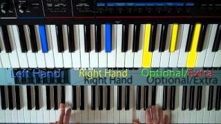 How to Play : Paradise by Coldplay - Piano & Vocals - PTM