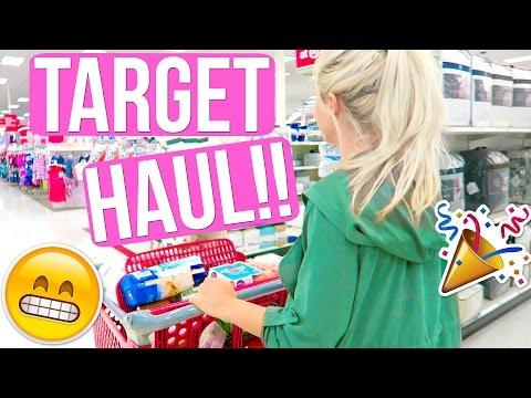 TARGET HAUL!! SHOPPING AT TARGET!!