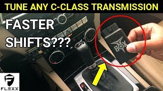 MERCEDES HOW TO: TUNE C-CLASS TRANSMISSION FOR MORE PERFORMANCE