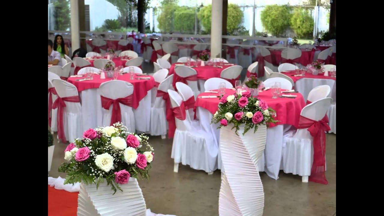 Decoração casamento preto vermelho ou Rosa e brancoMartins Eventos