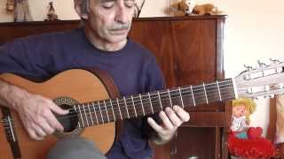ANAHNU LO  ZRIHIM solo for guitar