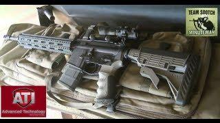 ATI Strikeforce AR-15 Stock & Free Float Handguard