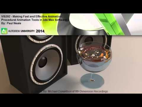 Autodesk University Procedural Animation with Paul Neale