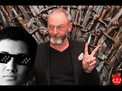 Q&A with Ser Davos (Liam Cunningham) From Game of Thrones | سؤال وجواب مع سير دافوس من جيم اوف ثرونز