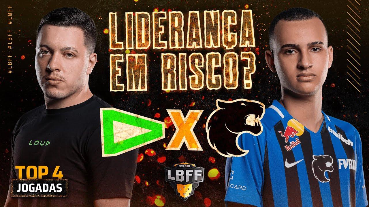 A LIDERANÇA DA LBFF TÁ EM RISCO? RED IMPRESSIONANTE! | TOP 4 JOGADAS | FREE FIRE