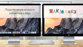 Підключення другого монітора до Mac (МакЛикбез)