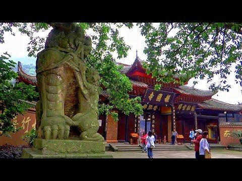 四川峨眉山報國寺 Bao Guo Temple in Emei Mountain (China)