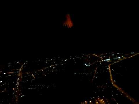 Vista Aérea Noturna De Fortaleza Por Pedro Henrique Oliveira