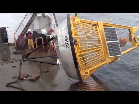U.S. Coast Guard & NOAA Place Weather Buoy