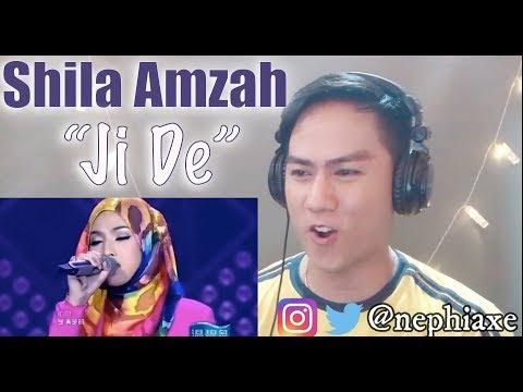 Shila Amzah - Ji De | REACTION