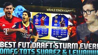 FIFA 16: OMG BEST STRIKER FUT DRAFT! (DEUTSCH) - FIFA 16 ULTIMATE TEAM - TOTS SUAREZ & LEWA!