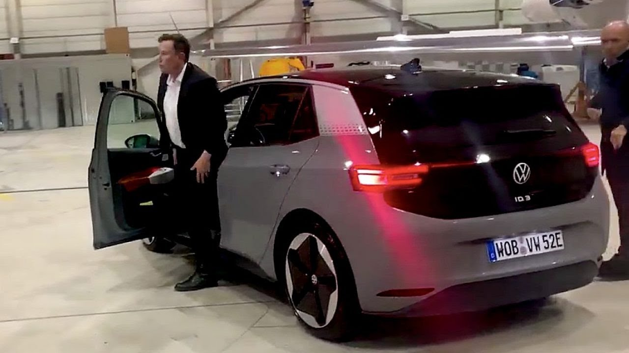 Elon Musk Testing The Model 3's Main Competitor: His First Impressions